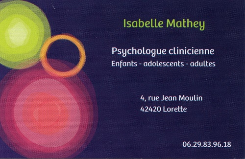 Isabelle mathey psychologue